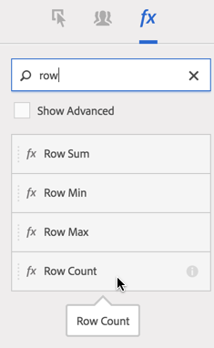 rowCount